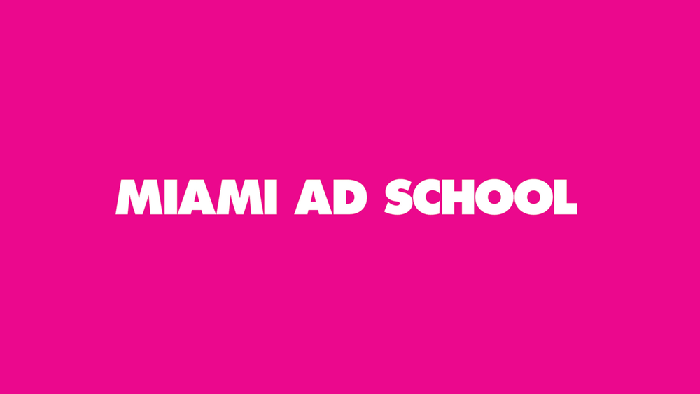 Teaching at Miami Ad School
