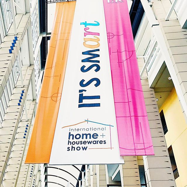 We're in #chicago today at one of our favorite shows - International Housewares Show!! The best in Housewares products and innovation all under one roof!  Follow our stories to see more from the show floor! #internationalhousewaresshow #ihs2017