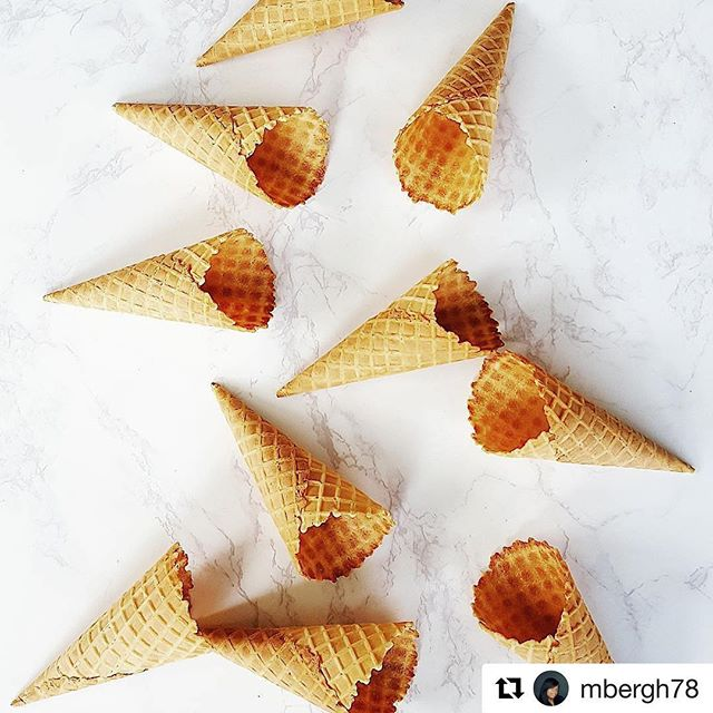What she said 😜#Repost @mbergh78 ・・・ What, the cones get no love? #nationalicecreamday