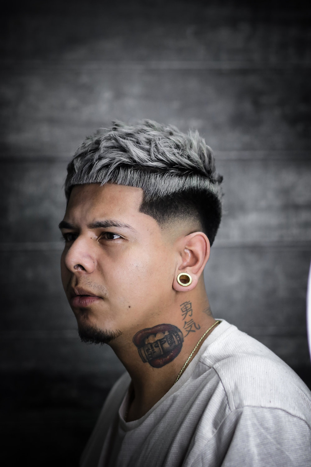 Steve Olivares - My name is Steve Olivares known as @Stevestylesyou_ in instagram located in Los Angeles California. My inspiration to become a barber/stylus came from the freedom of creativity, art , and fashion . Being around a barbershop weekly was eye opening because I saw how each person was themselves and that's something I always wanted to do . Being able to create amazing hair pieces and enjoying it was something I fell In love with coming in this industry I've been doing hair for almost 2 years being new in this industry is very frightening but I've managed to get as much education from the people I surround myself with and I'm always eager to learn new things . In the next five years I see myself as a world wide educator and motivation speaker for upcoming barbers / stylist . Working with a brand that'll not only represent the type of barber I am but also help me rise in my career . I've been blessed get an opportunity to work at House of Fade Barbershop with not only my mentor but my motivation @diego_Djdgaf and the team . Thank you @sharpfade for giving me the opportunity to be apart of this years FreshMen Class . The best is yet to come .-SteveStylesYou