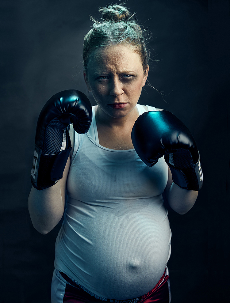 31 weeks- Boxing