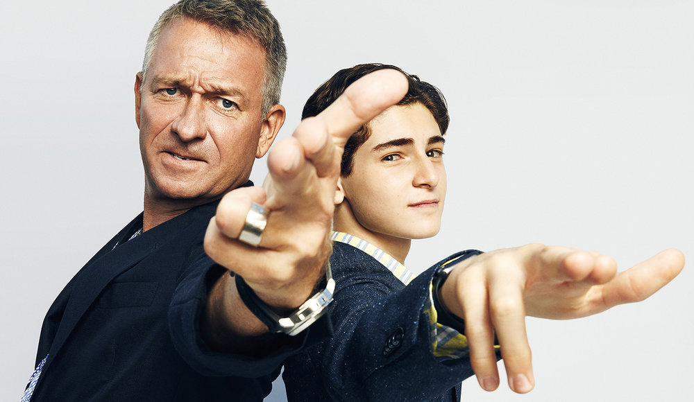 Sean Pertwee + David Mazouz