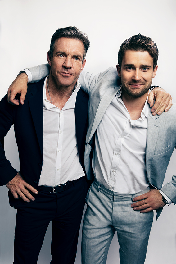 Dennis Quaid + Christian Cooke
