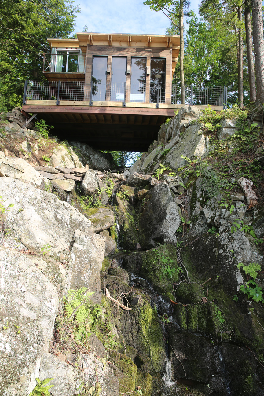 """Waterfall Cabin,"" for Building Wild, Season 2"