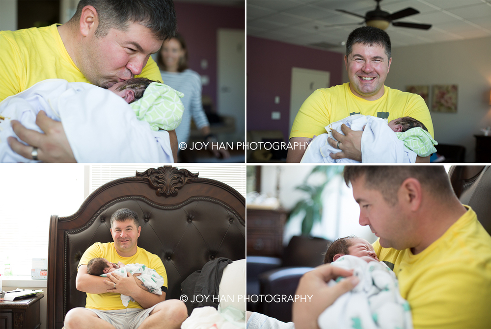 hospital birth photography, birth photographer in northern va, ashburn va