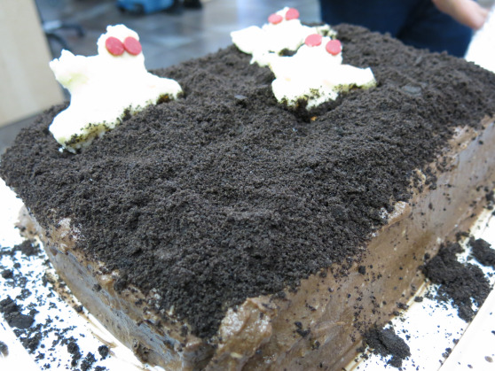 Resurrection ghost cake