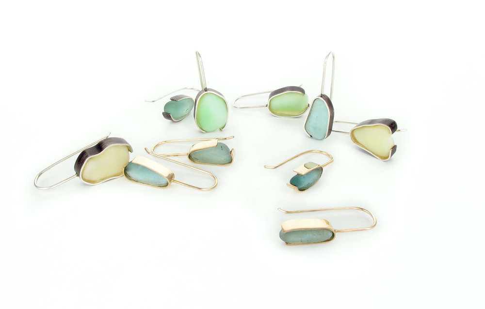 beach glass earrings mixed.jpg