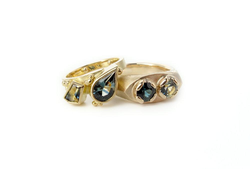 toietmoi parti sapphire wedding rings