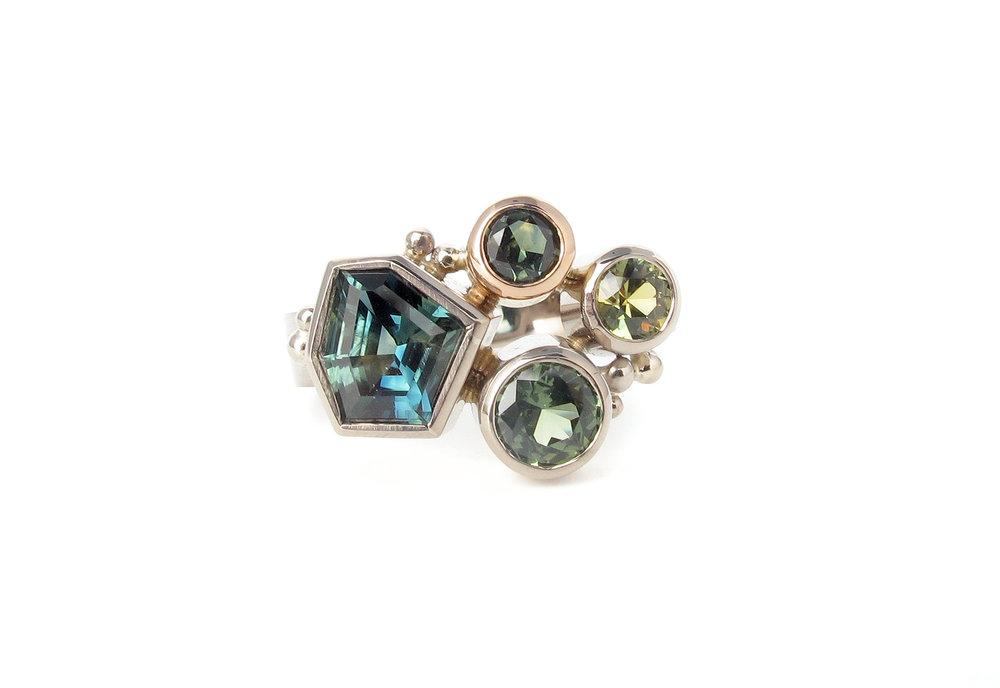australian sapphire cluster white rose gold ring.jpg