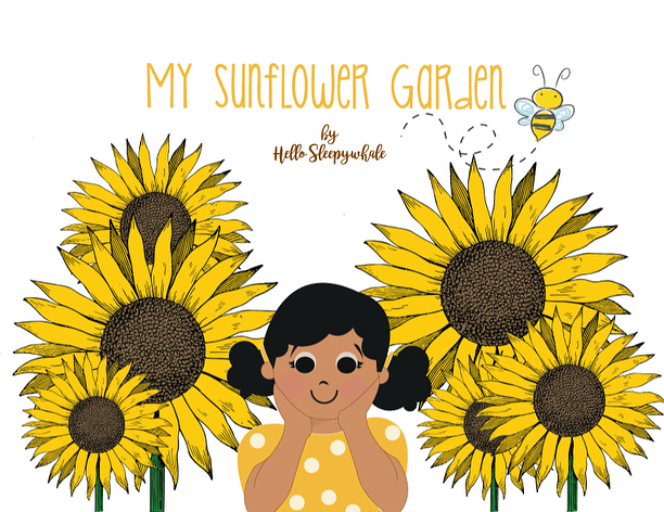 I did a digital storybook last year as part of my class project and later on, used it in my classrooms. I'm ready to revisit and reconstruct these pages and develop them into a full illustrated digital storybook. These are some of the pages that I decided to keep; Collages of watercolored background I painted and digitalized Élodie 👧🏽🌻 . . . #vscox #hellosleepywhale #digital #storybook #iamélodie