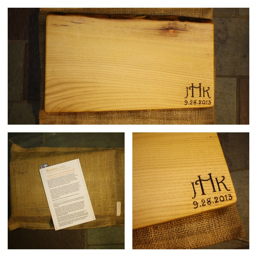 Black Locust Cutting Board gift set-499