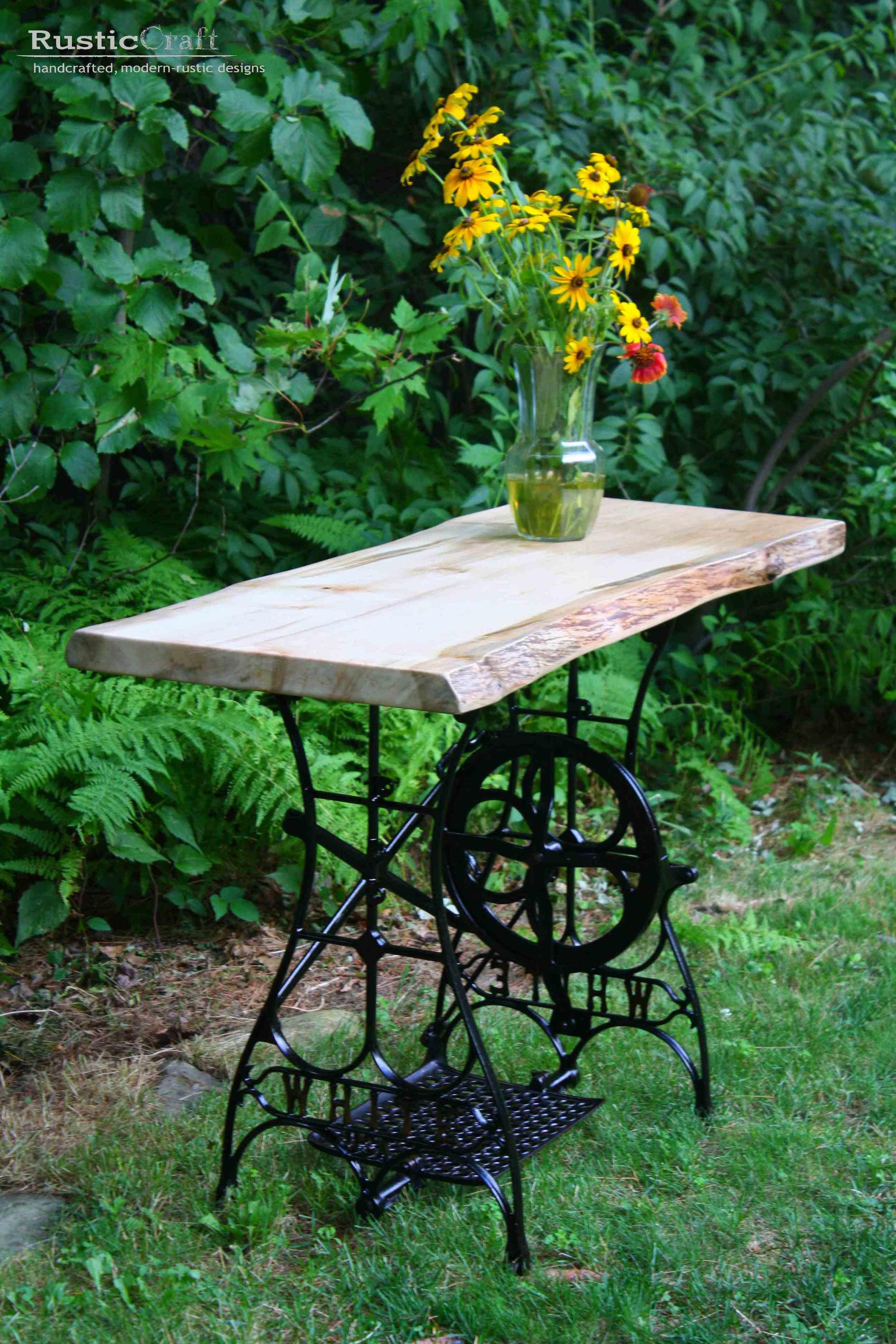Table gallery rusticcraft designs - Gartendeko modern ...