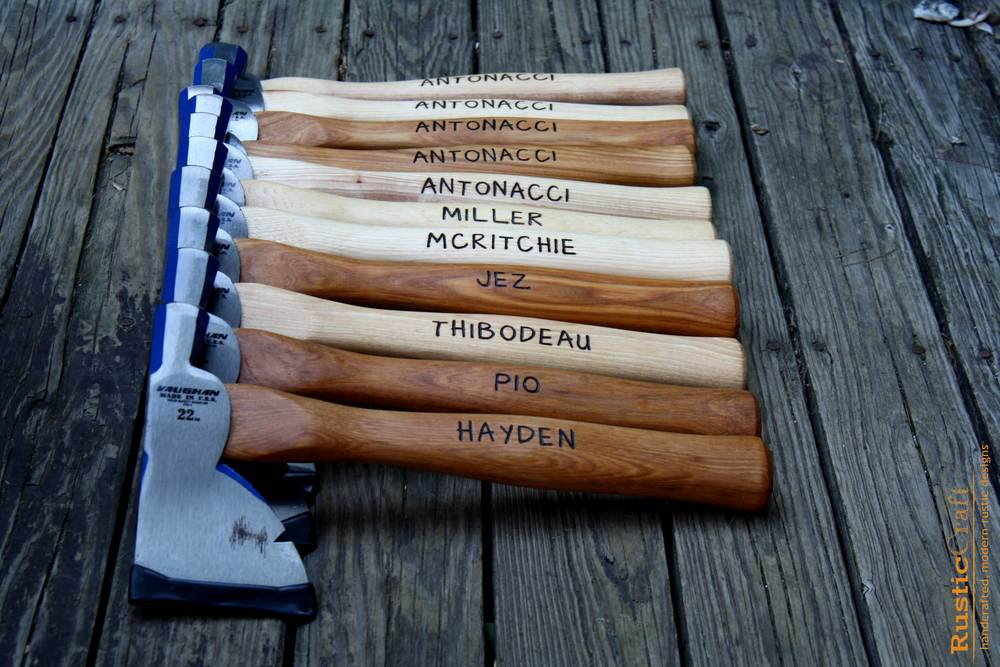 Groomsmen Gifts: Half Hatchet