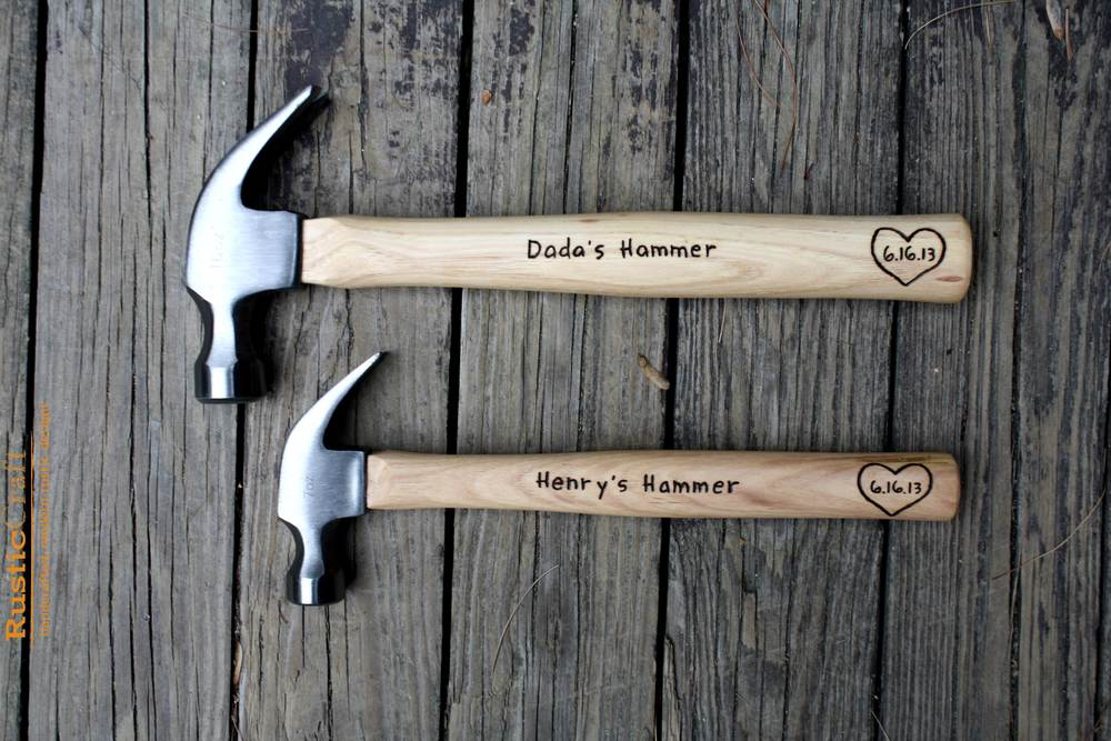 Father & Son Claw Hammer Set