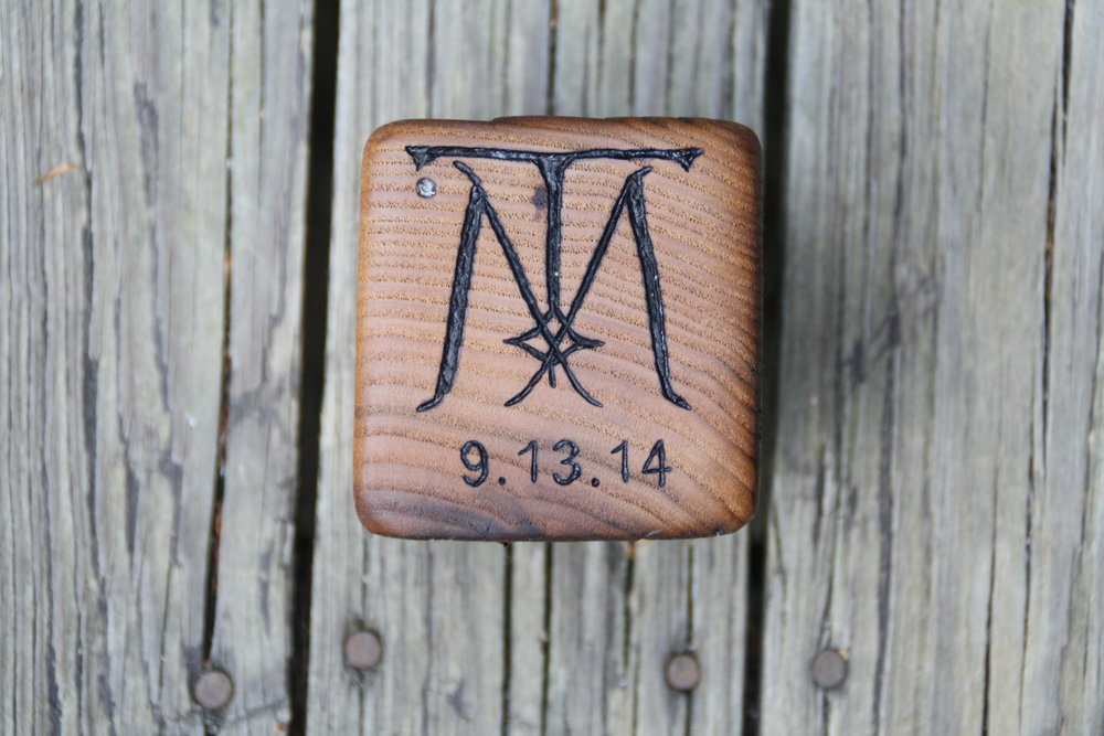 Personalized Ring Box