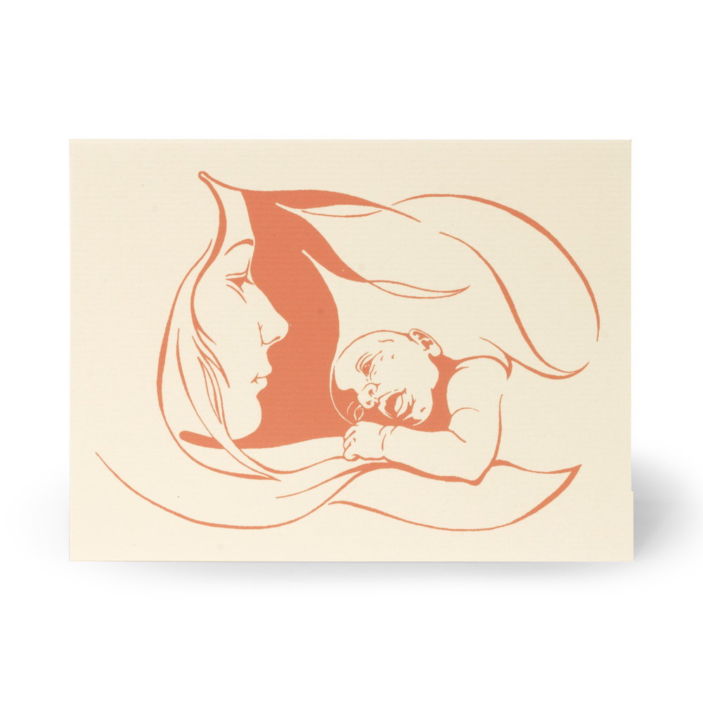 Copy of Mother and Child Notecard