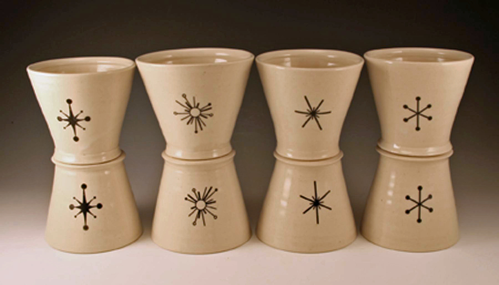 Four-star whisky cups