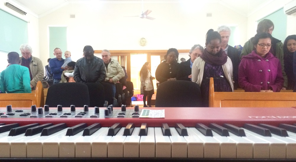 Saturday morning at Elizabeth SDA Church, Adelaide