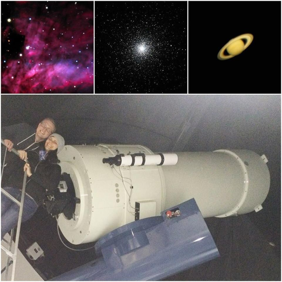 Photos by Milroy Observatory
