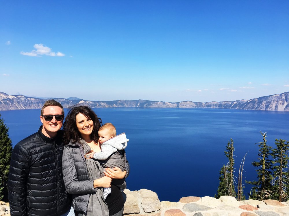 Day off at Crater Lake National Park, Oregon, USA