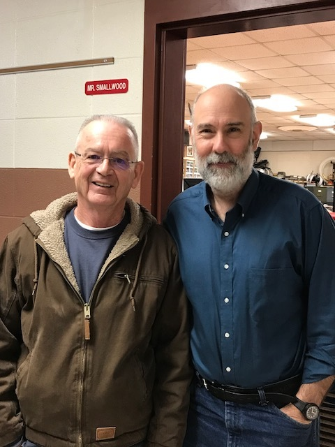 Gary and Mark Smallwood, the music teacher at their school. These two already have plans for a Calvary/Redbird project!!