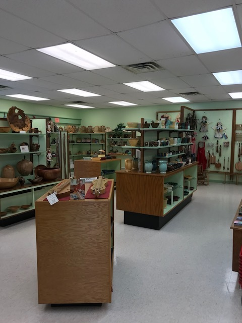 The Redbird Craft store. They sell BEAUTIFUL items, made by local craftsmen/women.
