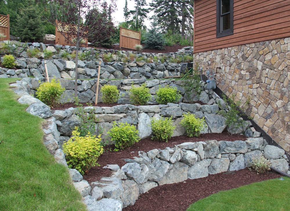 Landscape Design Photos Retaining Wall