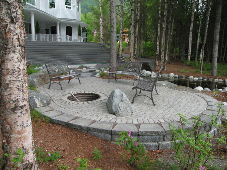 Patios Pathways Stairs | Landscape Design Construction | Anchorage ...