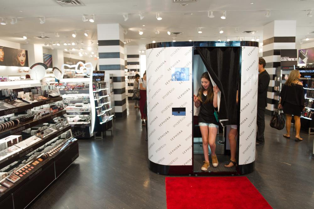 Sephora Corporate Photo Booth Rental