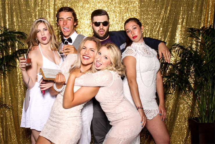 Gatsby Themed Party Studio Photo Booth
