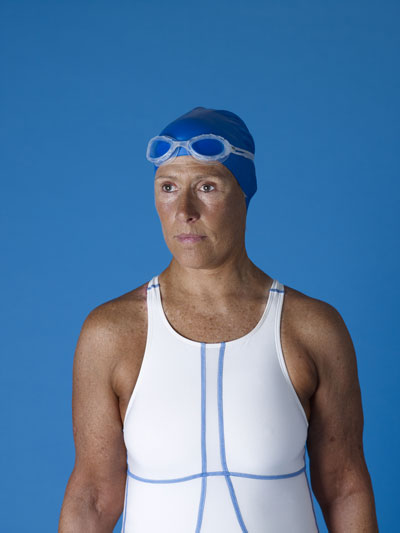 Diana Nyad photographed by Catherine Opie.