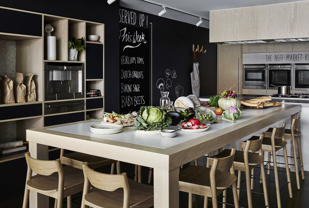 NEFF MARKET KITCHEN Adele Bates Interior Design Melbourne - Neff kitchens