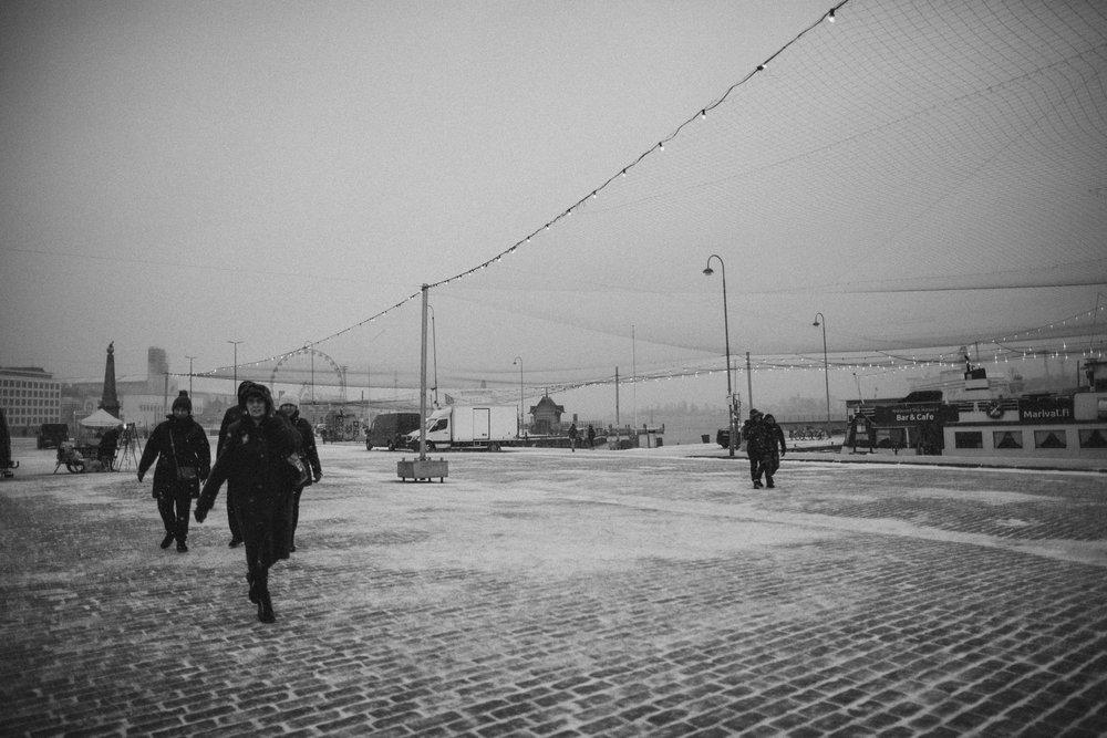 Helsinki Harbour.