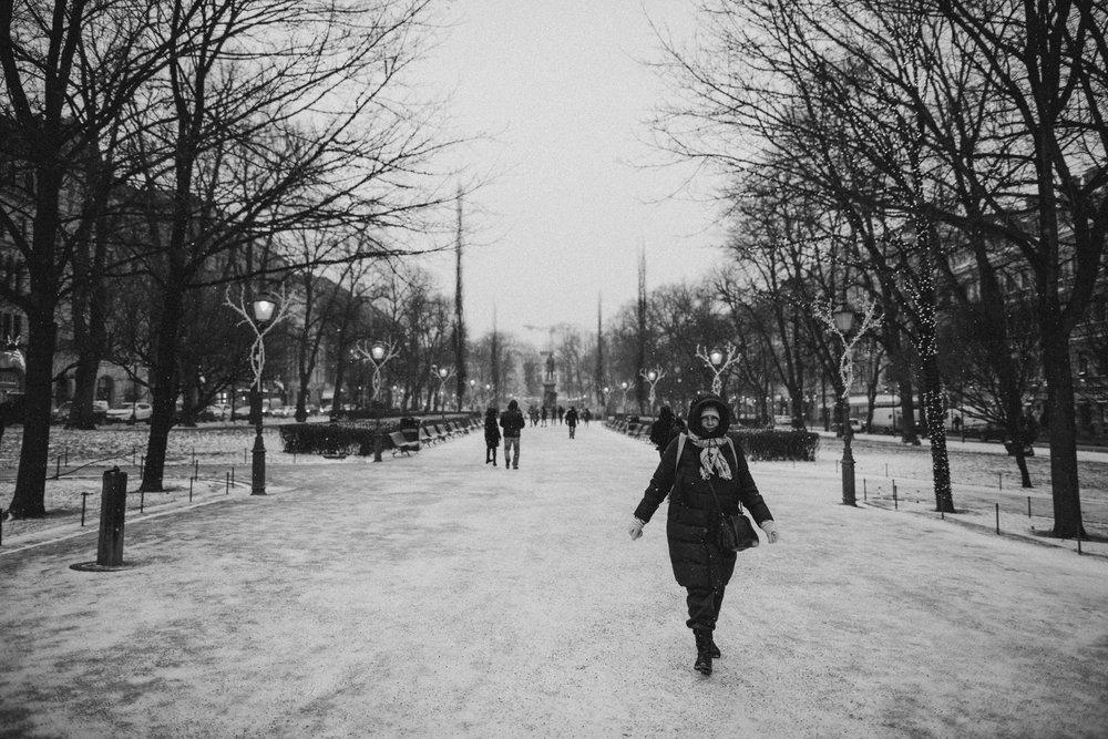 Park in Helsinki.