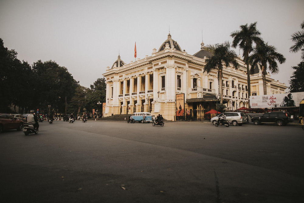 Hanoi's Opera house