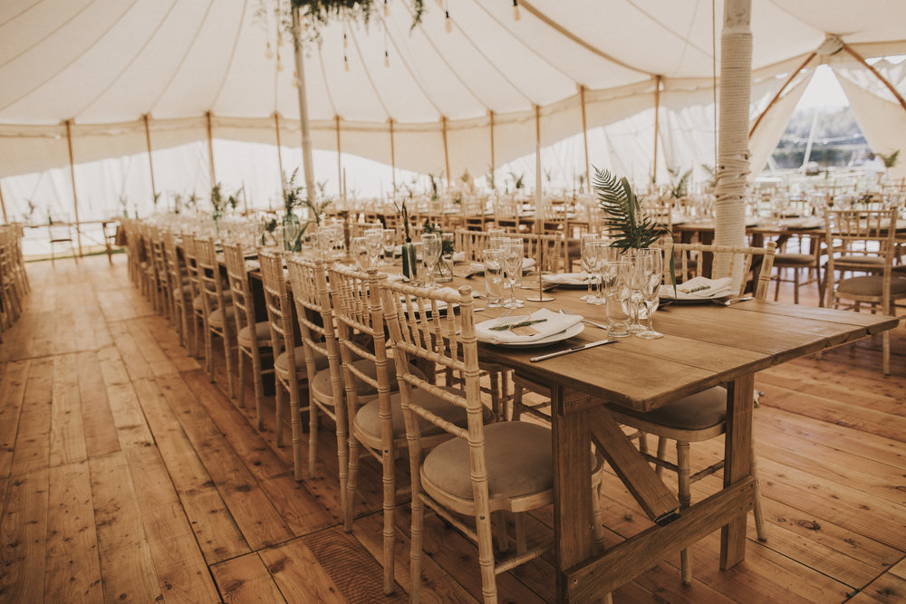 Sperry tent wedding