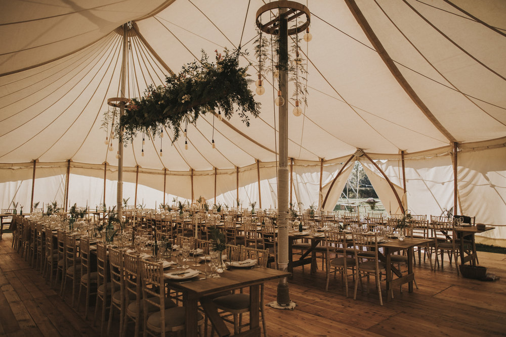 sherry tent wedding