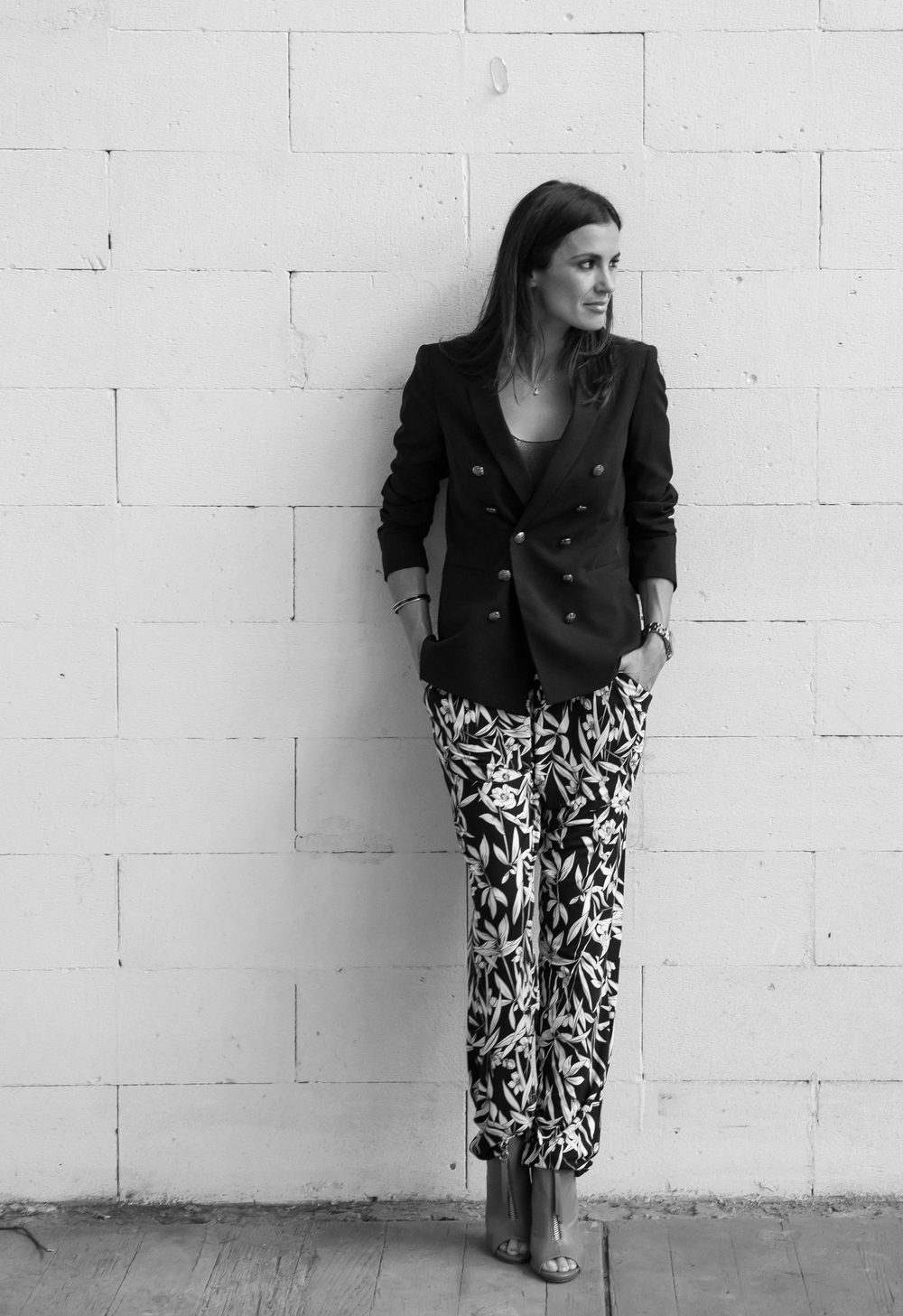 Emme pants : Sportsgirl blazer : Siren shoes