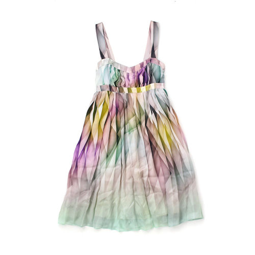 ef2e925409 Kookai Silks Pastel Baby Doll Dress - Size 34 (UK6). VT001097M fron.JPG