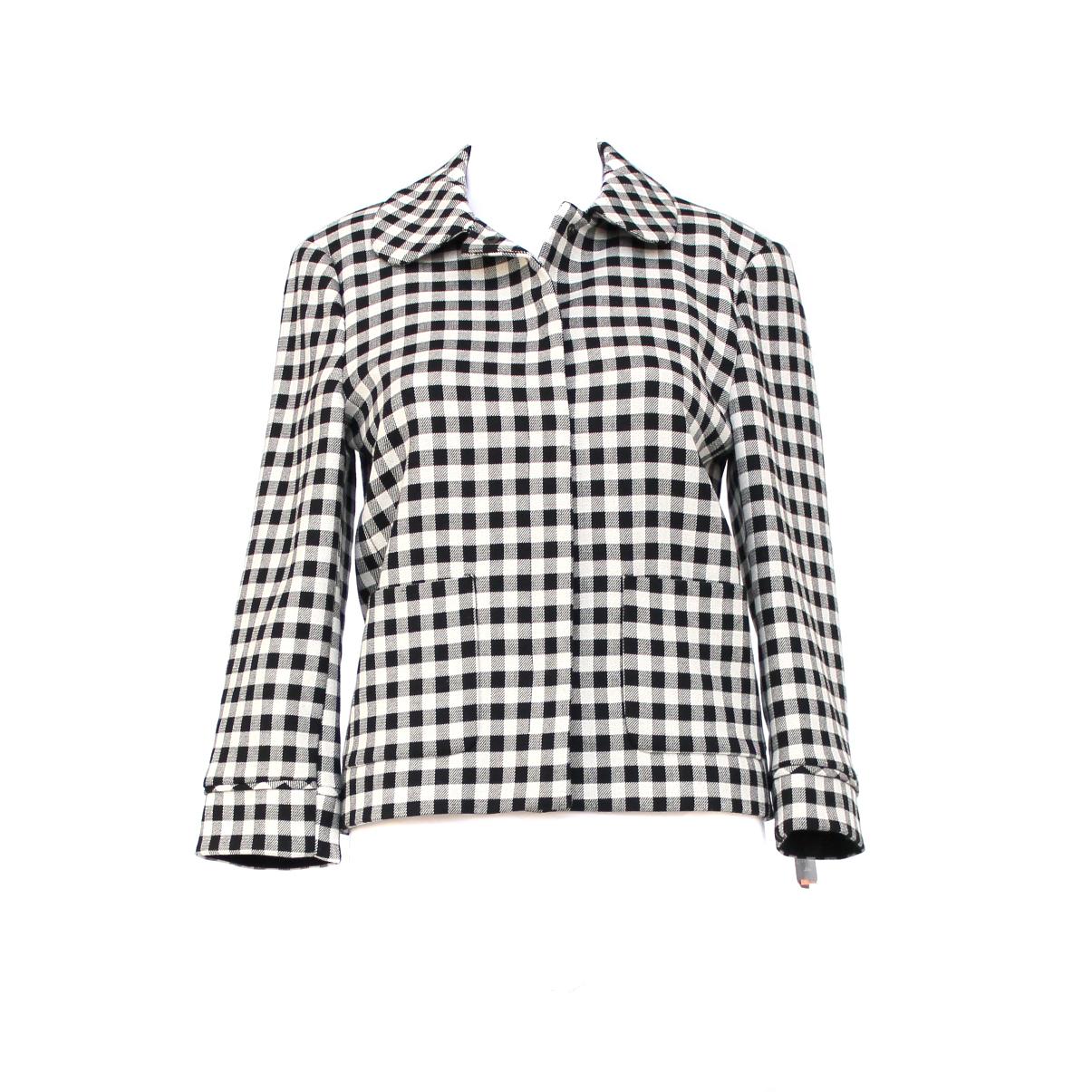c05c1e1f Black And White Check Dress Zara – DACC