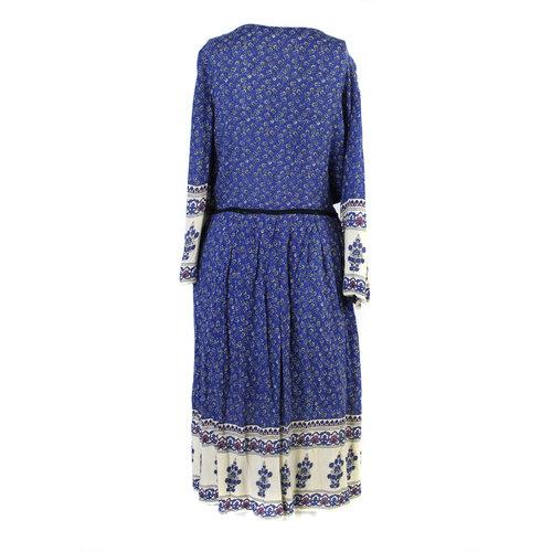 9c71d5c0 ZARA Trafaluc blue peasant dress - Size L — The OpMarket
