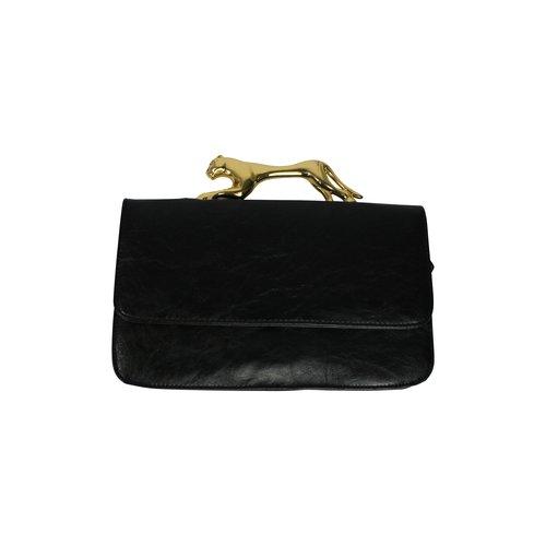 b637a462e9 Deena & Ozzy Jaguar Clutch black bag.  MM001333M_deena_ozzy_jagur_clutch_side.JPG.  MM001333M_deena_ozzy_jagur_clutch.JPG
