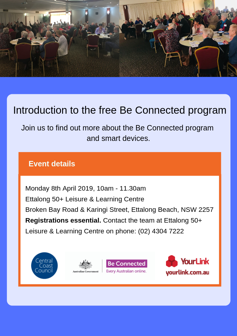 Be Connected Ettalong 8th April A4.png