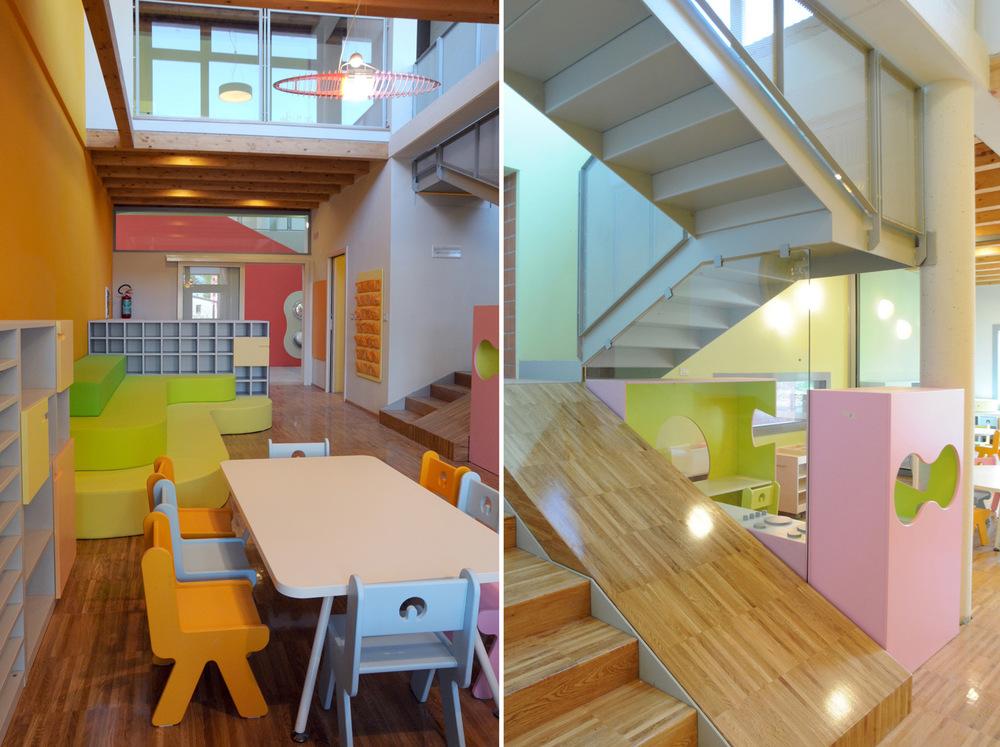 Scuola dell 39 infanzia a sei sezioni zpz partners for Scuola arredatore d interni