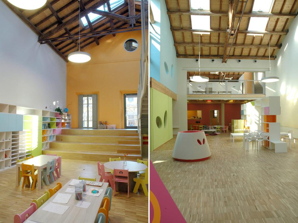 Scuola loris malaguzzi zpz partners for Scuola burgo