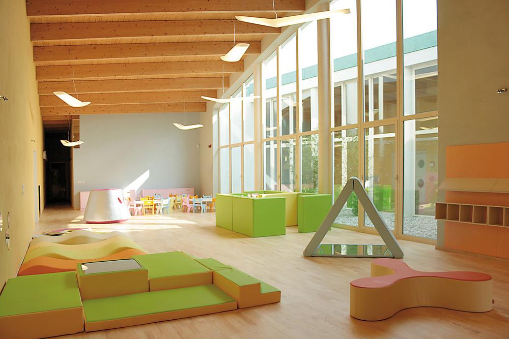 Nido e scuola dell 39 infanzia a nonantola zpz partners for Accademia fashion design milano
