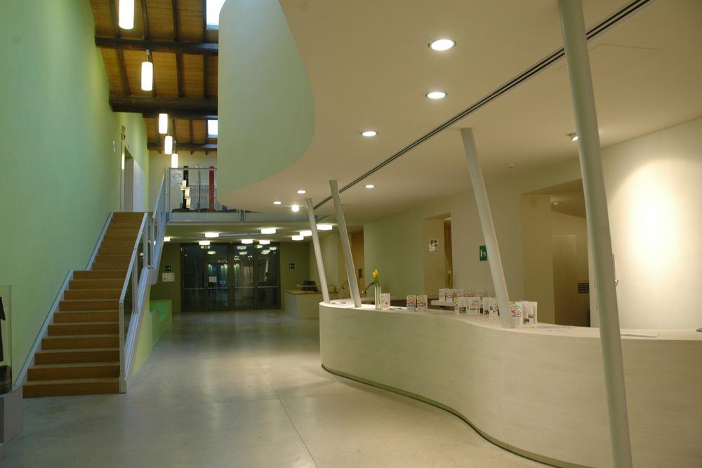 Centro Internazionale per l'infanzia Loris Malaguzzi, 1° stralcio