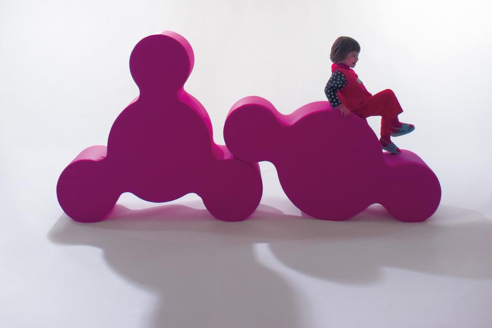 Play+ Soft  linea di arredi per l'infanzia per PLAY+