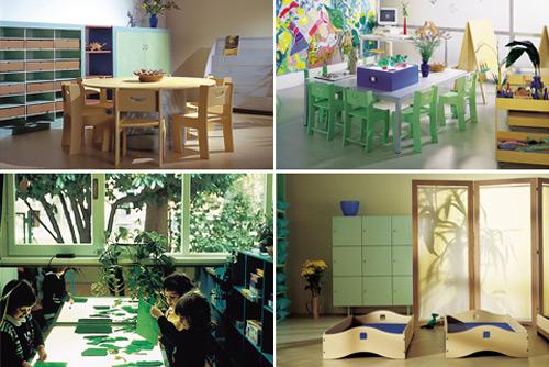Atelier 3  linea di arredi per l'infanzia