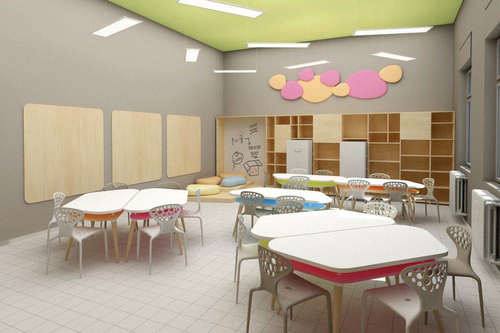 Progetto Fare Scuola - Aule e corridoio  aumentati